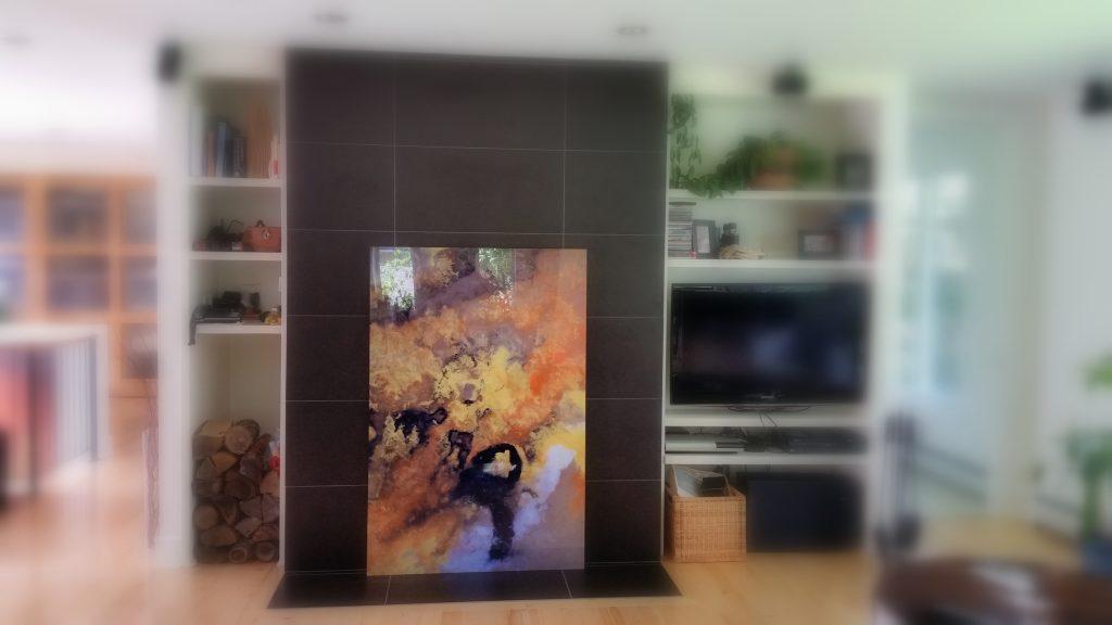 Impression sur acrylique 40 x 60 pouces